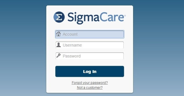 Step by step instructions to SigmaCare Login