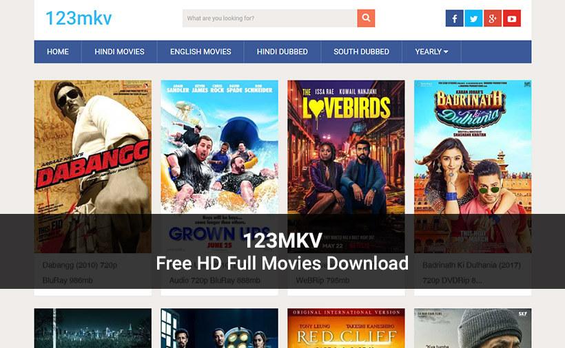 123Mkv - Free HD Full Movies Download (2021) 123MKV Movies