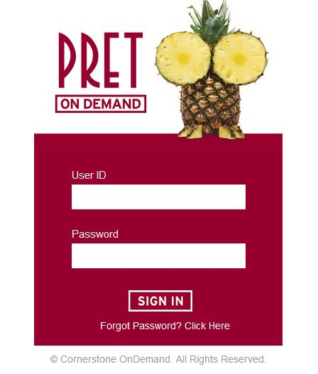 How to Login On Pret On Demand