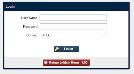 STC Blackboard Log in Instructions
