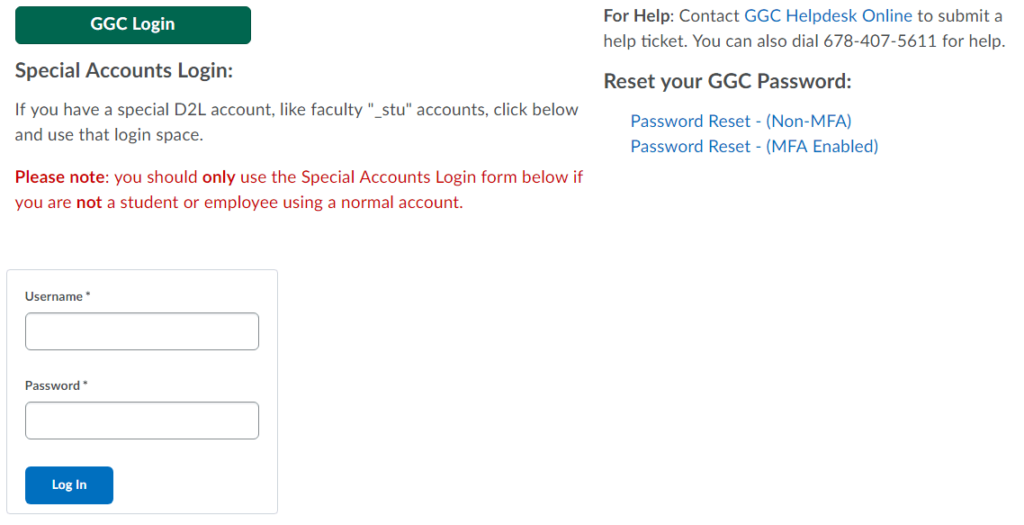 GGC Banner | GGC Online Courses Login Guide 2021