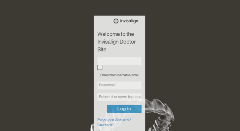 Invisalign Doctor Site Login