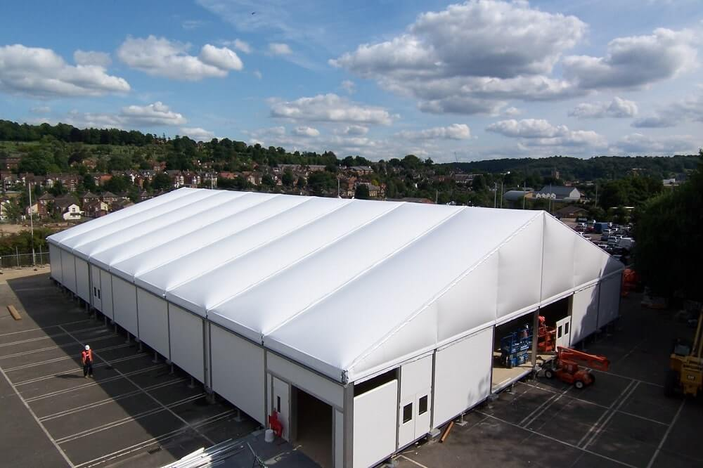 How to Successfully Install a Temporary Building