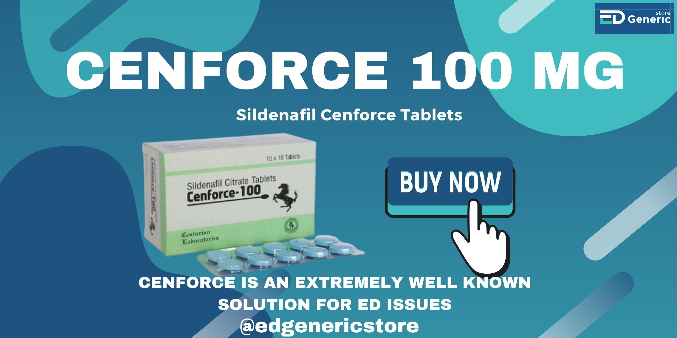 Cenforce 100mg Tablets| Ed Generic Store
