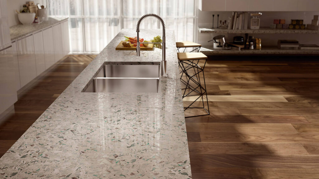 Why are quartz countertops different as compared to other countertops?