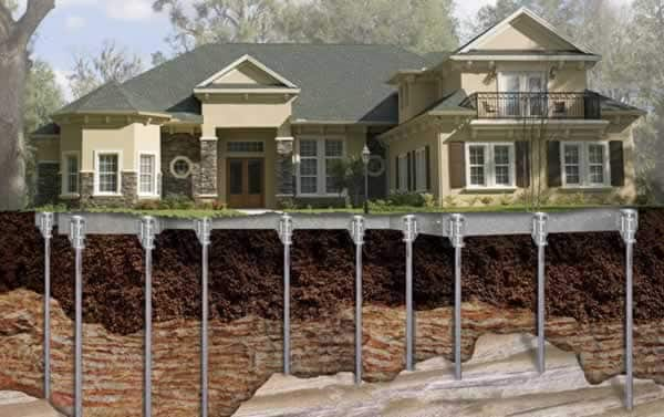 underpinning a house