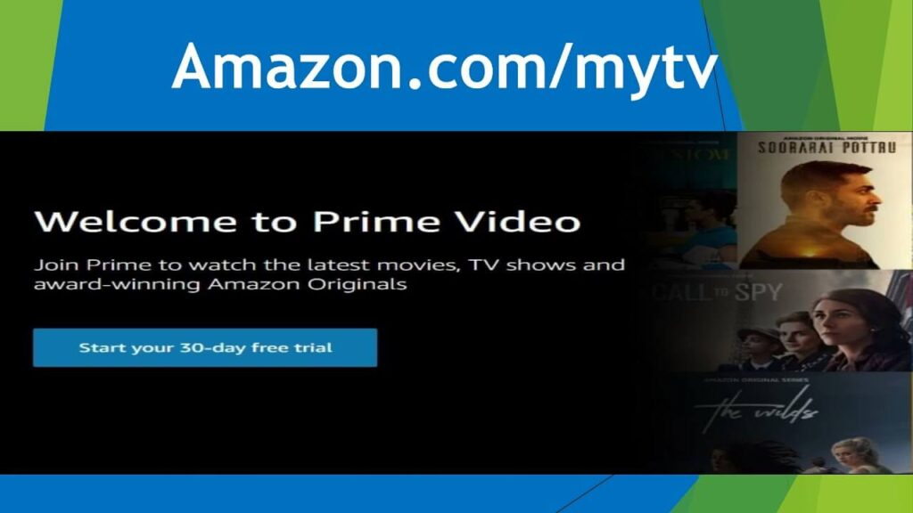 How To Register Your Prime Video – Amazon.com/mytv